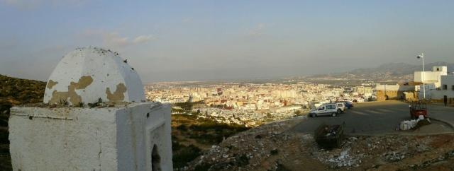 Vista de Tetuán desde el cementerio